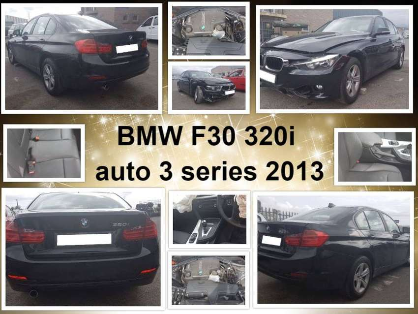 BMW F30 320i auto 3 series 2013 spares for sale. 0