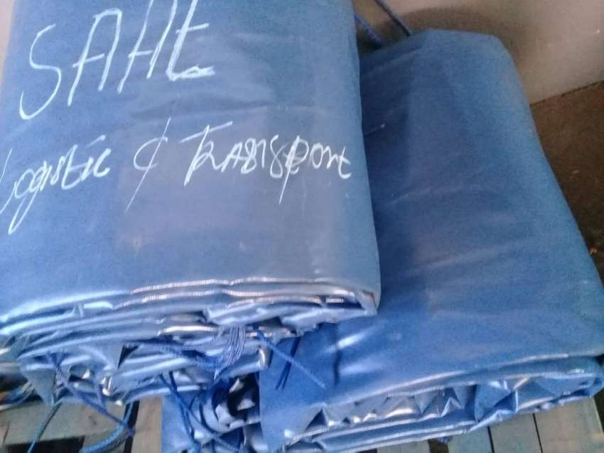 9M X 9M HEAVY DUTY PVC COVERS/TARPAULINS AND CARGO NETS 0