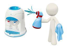 Чистка и дезинфекция кулеров для воды - Рекомендовано делать раз в год