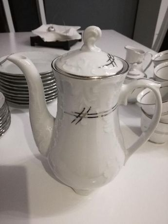 NOWA Porcelana Chodzież zestaw kawowy / deserowy na 10 osób Będzin - image 6