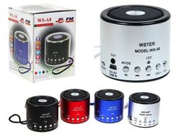 Портативная колонка WS-A8, WS-A9,MP3,USB,радио,лучшая цена,оригинал