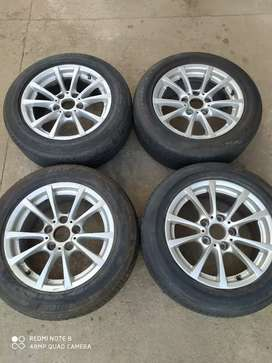 Bmw F20/F30 16 inch oem rims with runflat tyres for sale