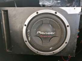 Pioneer Champion Series 12inch Dvc subwoofer