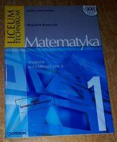 Matematyka 1- wybrane scenariusze lekcji-liceum,technikum