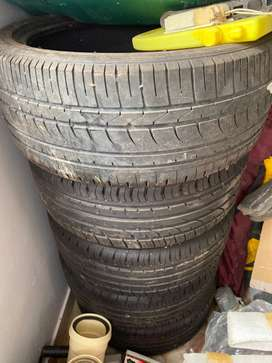 Brand New Original 16 inch VW Polo TSI Rims And Tyres For Sale