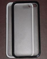 Чехол бампер для iPhone 4 4s 5 5c 5s SE 6 6s 6 Plus черный белый