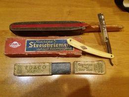 Опасная бритва EDACO solingen и точильный инструмент