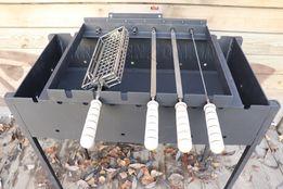 Шампур - решетка для мангала с электроприводом - Решітка для Кручень