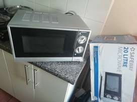 Microwave just 3 months old in a box
