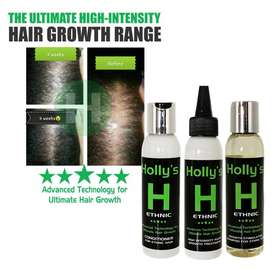 Holly's Original High-Intensity shampoo, conditioner, serums