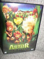 Artur i Minimki DVD polski dubbing