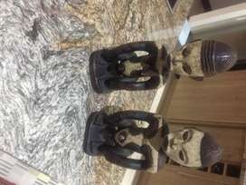 African Wooden Statuettes. Genuine African Carved Art