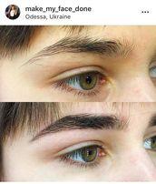 Коррекция и окрашивание бровей, макияж и грим любой сложности