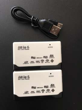 All in One USB External Memory Card Reader