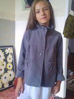 Пальтишко пиджак на 6-7 лет.курточка.кардиган 116 рост