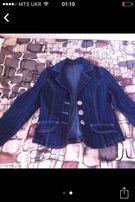 Джинсовий піджачок