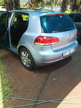 Golf 6 tdi in a good condition light on fuel and good runner.