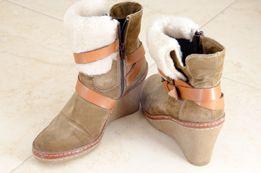 Жіночі замшеві черевички (осінні)