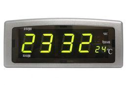 Часы с термометром Led Digital Clock CX-818 настольные электронные