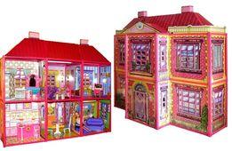 Домик для Барби 6983, 2 этажа, 6 комнат, 128 дет и другие домики