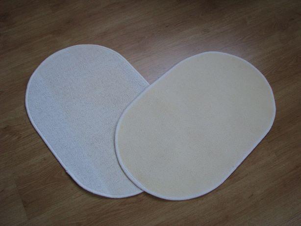 Białe, owalne dywaniki, chodniczki antypoślizgowe 65x44 cm Krapkowice - image 7