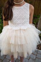 Платье нарядное для девочки 128 рост
