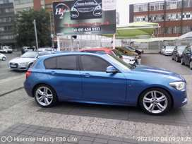 2014 BMW 1series automatic