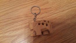 Брелок деревянный слон