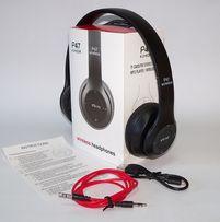 Bluetooth гарнитура наушники wireless headphones P47 FM MP3 bluetoot