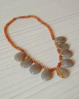 Ожерелье (бусы) из натурального камня