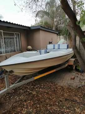 Vishing boat with Suzuki 65 motor
