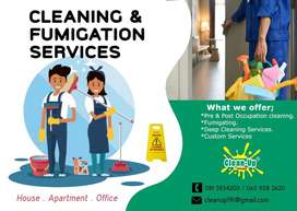Cleaning & Fumigation Services