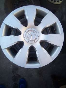 Mazda/Ford rims and hubcaps