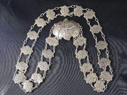 Pas kaukaski, srebro 84, 108 cm