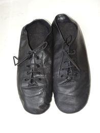 фирменные кожаные танцевальные туфли чешки р.30-31 (20 см)
