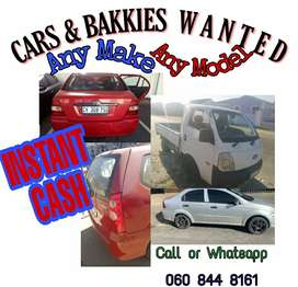 Contact me if you struggling to sell any car or bakkie.