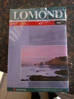 Фотобумага для струйного принтера Lomond 170 г\м А3 матовая/матовая