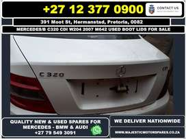 Mercedes Benz C320 CDI used boot lids for sale