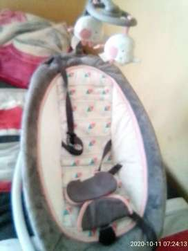 Music and vibrate chair for baby