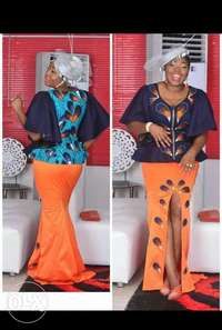 Order for your beautiful Ankara clothes, flawless styled Ankara design 0