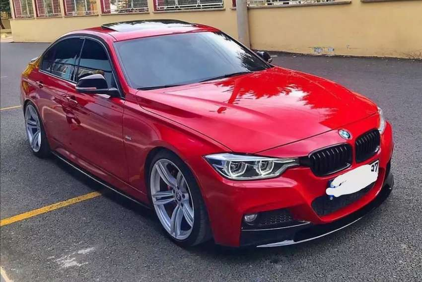 F30 3 series BMW front lips 2012 to 2018 0