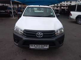 2020 white toyota hilux 2.4 Gd-6 lowbase single cab, Manual
