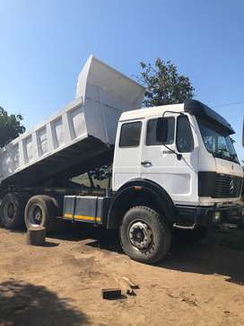 1985 Mercedes 2628 10 cube Tipper