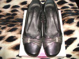 Новые женские кожаные туфли, р.38(стелька 25см), пр-во Днепропетровск