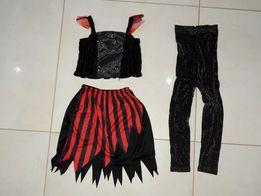 4-6 lat czarownica WRÓŻKA czarodziejka halloween strój