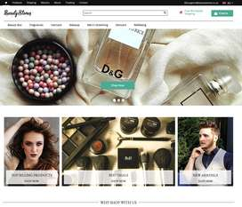 Online Beauty Store | 150+ Products
