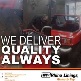 Rhino linings Richards bay