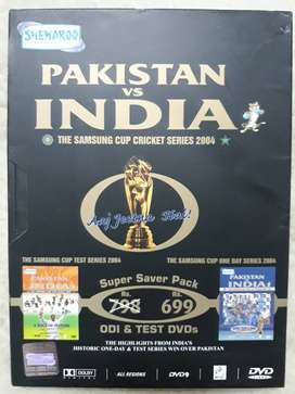 Pakistan vs India: The Samsung Cup Cricket Series 2004