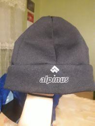 Фирменная зимняя шапка alpinus