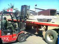Image of Triaxle trailer for sale.